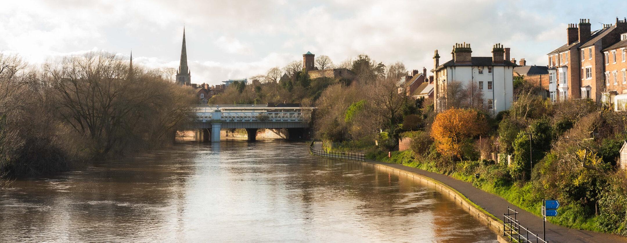 Scenery in Shrewsbury